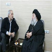 ديدار معاون وزير نيرو در امور برق و انرژي با حضرت آيت الله جزايري