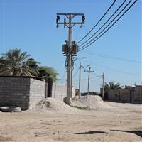 تامين روشنايي معابر روستاهاي تابعه شهرستان باوي با نصب 370 دستگاه كله چراغ لاك پشتي