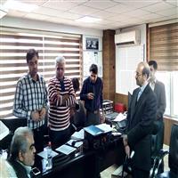 حضور قائم مقام وزير نيرو در ديسپاچينگ شركت توزيع نيروي برق اهواز