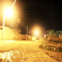 روشنايي روستاهاي مسير جاده اهواز به خرمشهر تامين شد